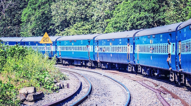 different class train travel India